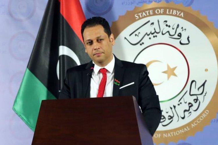 محمد السلاك الناطق الرسمي باسم رئيس المجلس الرئاسي