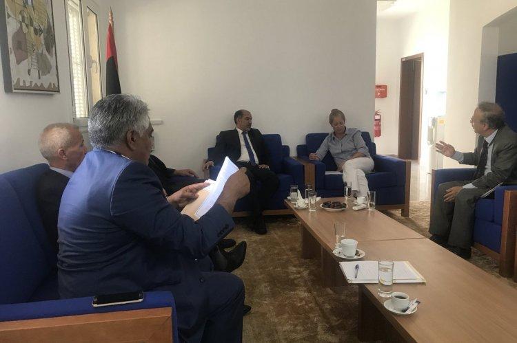 صورة من صفحة البعثة الأممية لدى ليبيا