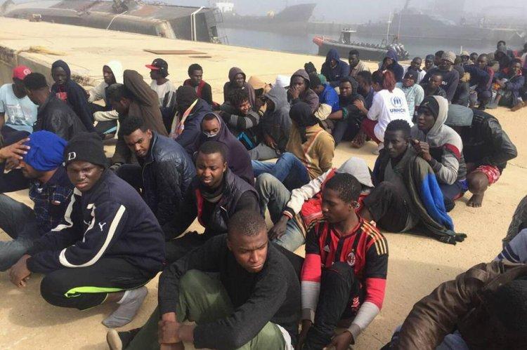 مصدر الصورة: حرس السواحل الليبية