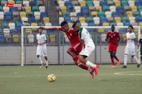 من مباراة الأهلي بنغازي والنصر