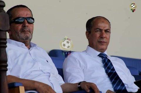 صورة من صفحة الإتحاد الليبي لكرة القدم