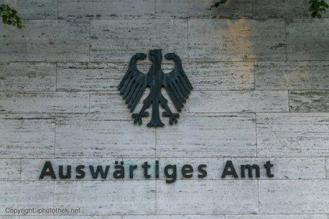 صورة من موقع وزارة الخارجية الألمانية