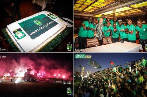 صور من المركز الإعلامي للنادي الأهلي طرابلس