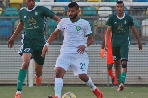 لقطة من مباراة النصر و الأهلي طرابلس