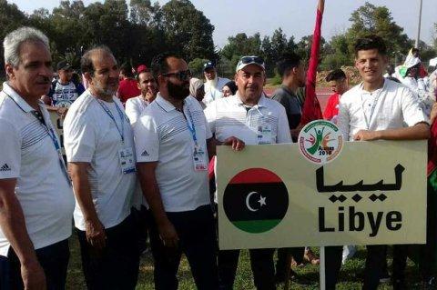 صورة من صفحة اللجنة الأولمبية الليبية