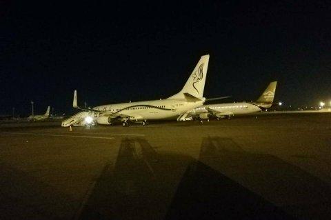 صورة من المكتب الإعلامي لمطار معيتيقة الدولي